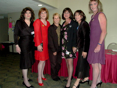 Our transgender women friends at the Esprit Conference in Port Angeles, WA.